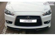 Mitsubishi Lancer Sportback (2008+) Front Bumper Lip Spoiler Extension Splitter
