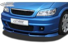 Opel Vauxhall Zafira A OPC Front Bumper Lip Spoiler Extension Splitter
