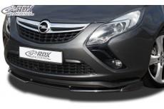 Opel Vauxhall Zafira Tourer (C/P12) 2011+ Front Bumper Lip Spoiler Extension Splitter