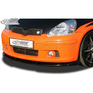Toyota Yaris Ts P1 2003 2005 Front Bumper Lip Spoiler Extension
