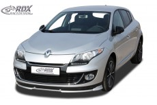 Renault Megane 3 Sedan Grand Tour (2012+) Front Bumper Lip Spoiler Extension Splitter