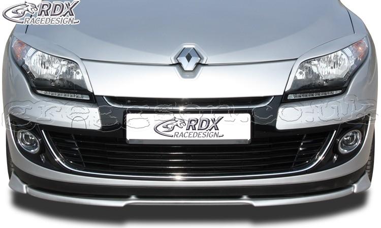 Renault Megane 3 Sedan Grand Tour (2012+) Front Bumper Lip ...