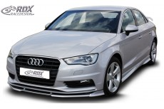 Audi A3 8V, 8VA Sportback, 8VS Sedan, 8V7 Convertible Front Bumper Lip Spoiler Extension Splitter