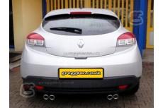 Renault Megane Mk3 Coupe Hatchback 5D 2008-2012 Sport Performance Exaust Silencer