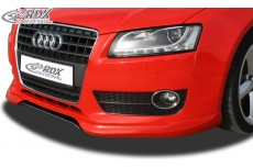 Audi A5 Coupe Convertible Sportback (-2011) Custom Front Bumper Lip Spoiler Extension