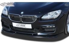 BMW F06 Gran Coupe (M Technik Front Bumper) Custom Front Bumper Lip Spoiler Extension Splitter