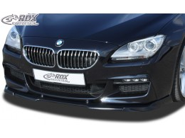 BMW F06 Gran Coupe (M-Technik Front Bumper) Custom Front Bumper Lip Spoiler Extension Splitter