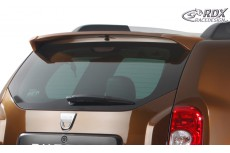 Dacia Duster (2010+). Custom Rear Roof Wing Spoiler