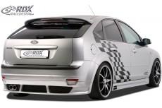 Ford Focus Mk2 Custom Rear Bumper Lip Spoiler Extension