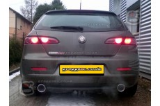 Alfa Romeo 159 Sportwagon Sedan 2,4JTD Sport Performance Exhaust Silencer Muffler