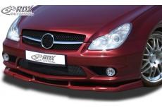 Mercedes CLS C219 AMG (Fits AMG or AMG front bumper) Custom Front Bumper Lip Spoiler Extension