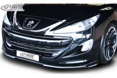 Peugeot RCZ (2010-2013) Custom Front Bumper Lip Spoiler Extension