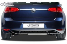 "Volkswagen Golf Mk7 ""GTI Look"" Custom Rear Bumper Lip Spoiler Extension"