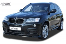 BMW X3 F25 M Technik (-2014) Front Bumper Lip Spoiler Extension Splitter