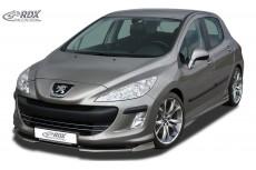 Peugeot 308 Phase 1 Front Bumper Lip Spoiler Extension Splitter