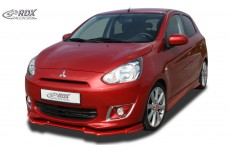 Mitsubishi Space Star & Mirage Front Bumper Lip Spoiler Extension Splitter