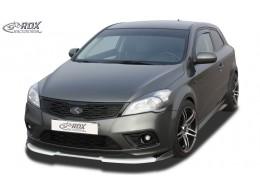 Kia Pro Ceed Typ ED (2009-2012) Front Bumper Lip Spoiler Extension Splitter